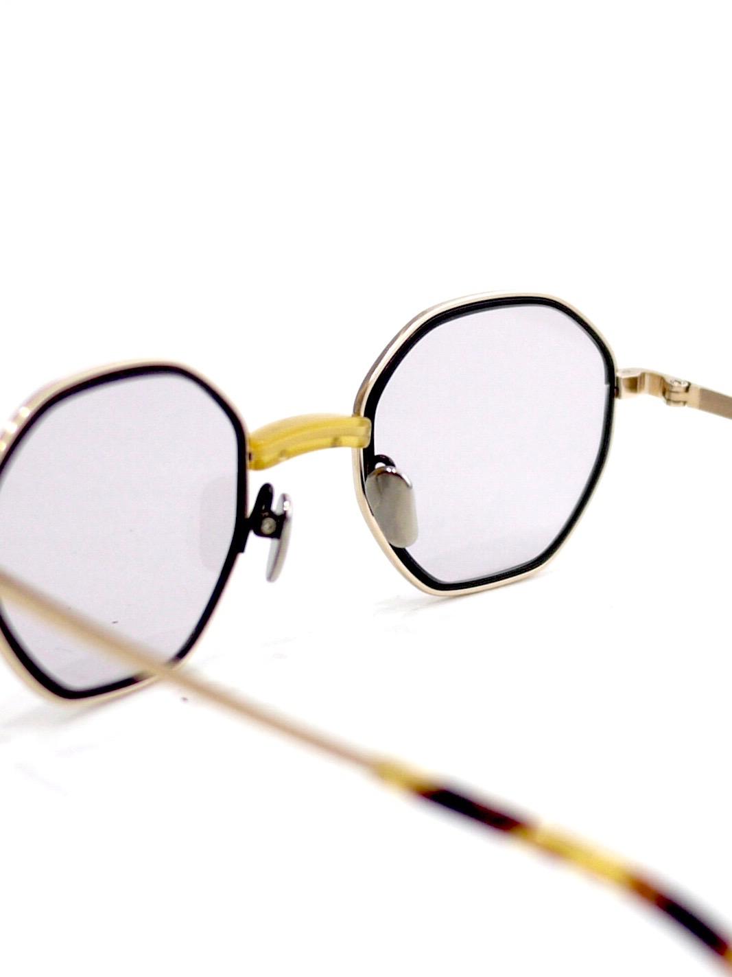 "kearny / charlie ""yellow×gold""  (gray lens)"