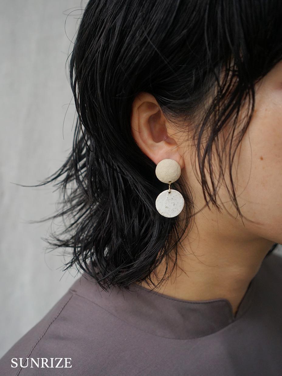 SŌK / pray dangle - SUNRISE,SUNSET (pierce & earring)