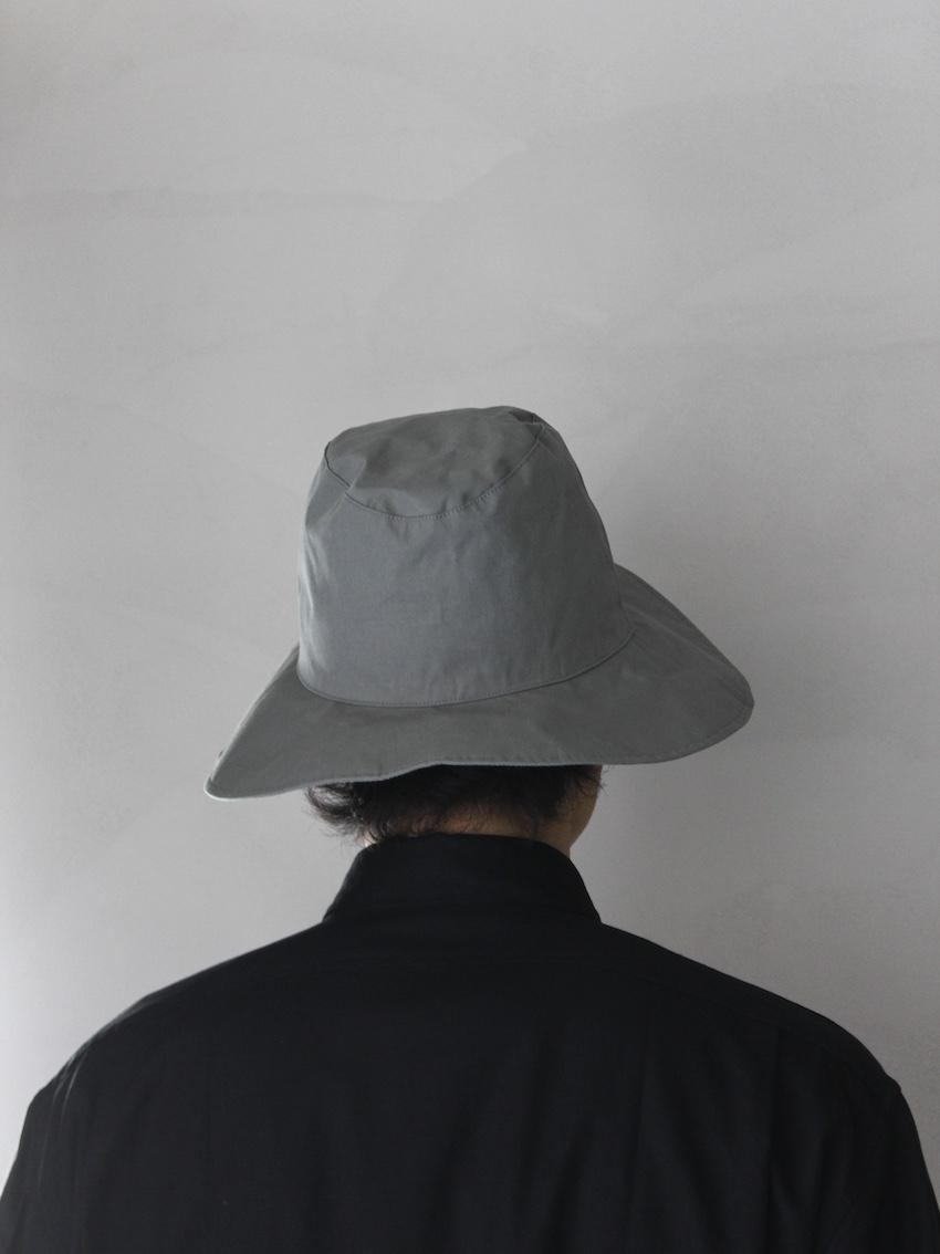 "KIJIMA TAKAYUKI / Wide Brim Soft hat ""MOSS GREEN"""