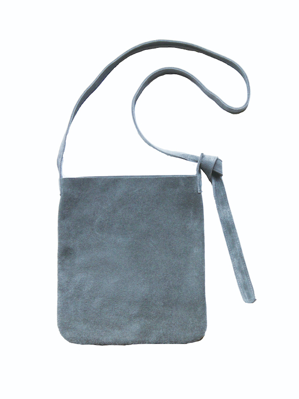 stanyan / mini leather sacoche GRAY