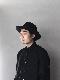 """KIJIMA TAKAYUKI / Bowler hat """"BLACK"""""""