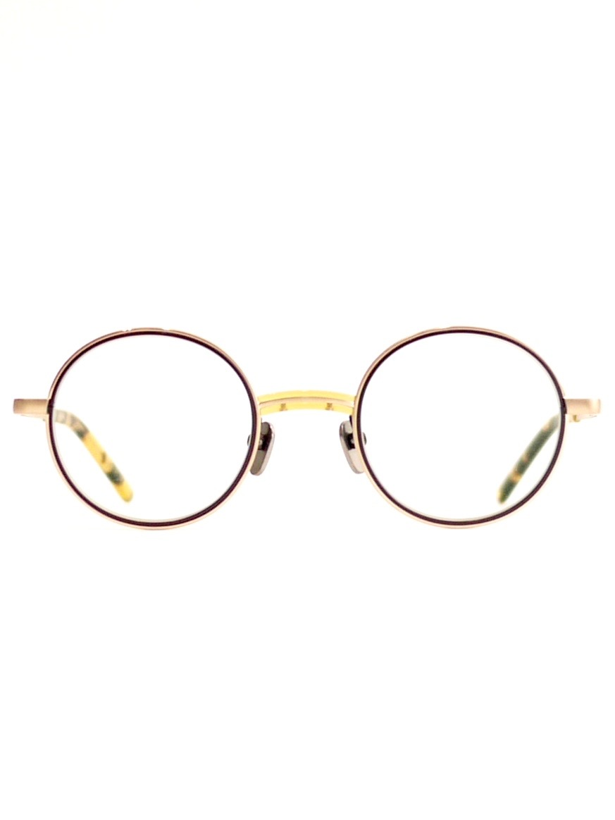 "kearny / steve ""yellow×gold""  (clear lens)"