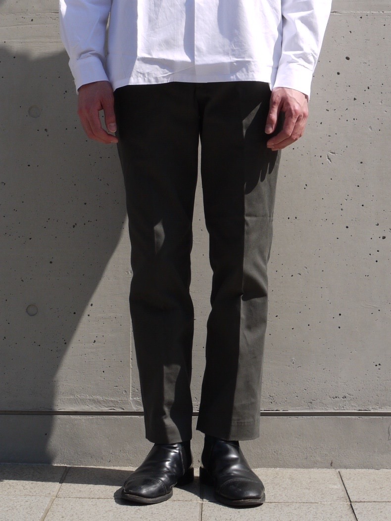 stanyan  ONE TUCK SLACKS / Dark Olive