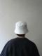"""KIJIMA TAKAYUKI / Bucket hat """"WHITE"""""""