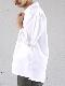 stanyan / コットンタイプライターオープンカラーシャツ ホワイト