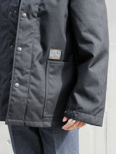 "STABILIZER GNZ  / COLD PROOF INSULATED CLOTHING ""Black"""