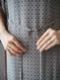 """Y.M.Walts / サイドレイヤードドレス """"Gray"""""""