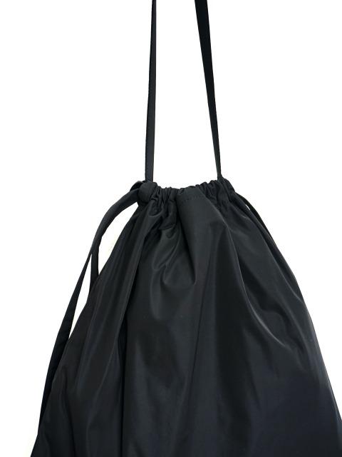 formuniform / drawstring bag S with strap BLACK