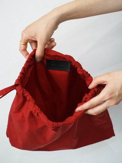 formuniform / drawstring pouch RED