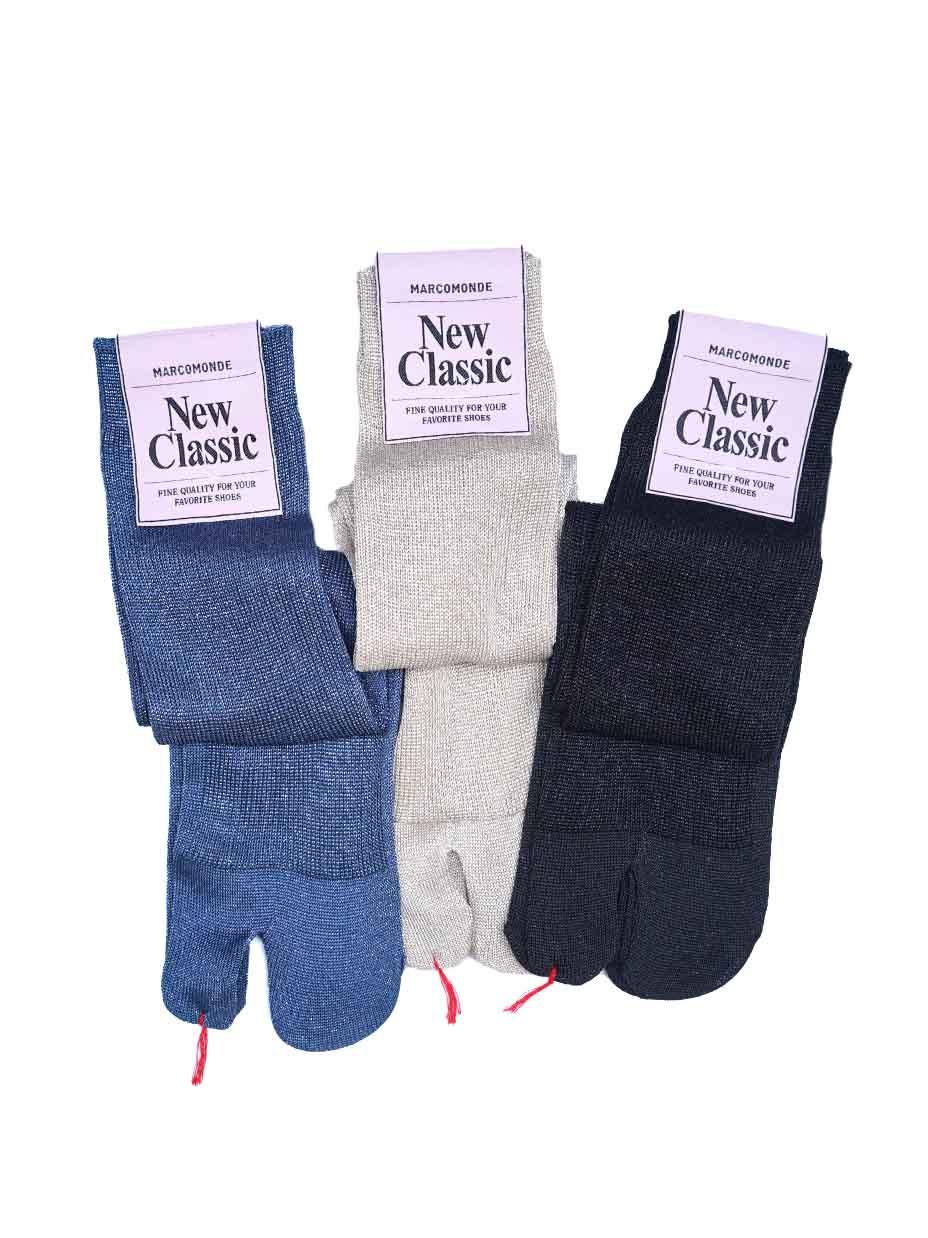 MARCOMONDE / glitter tabi socks