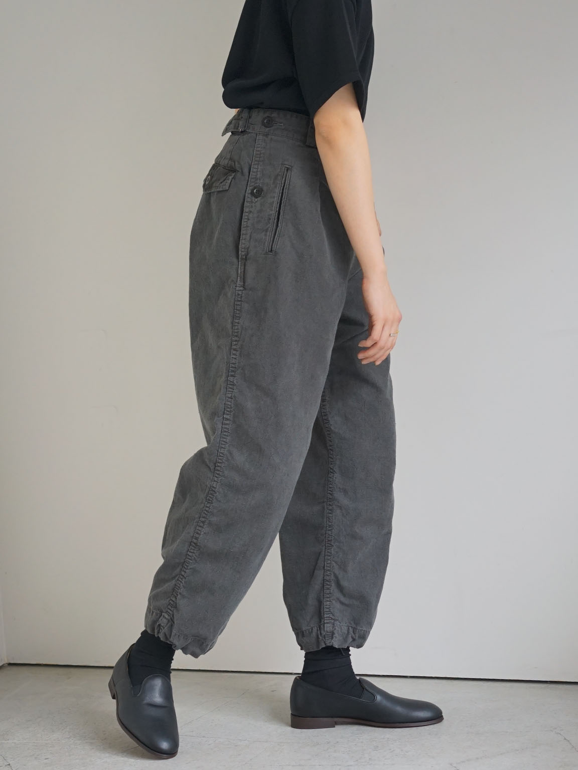 "OUTIL / pantalon limoges  ""BLUE"""