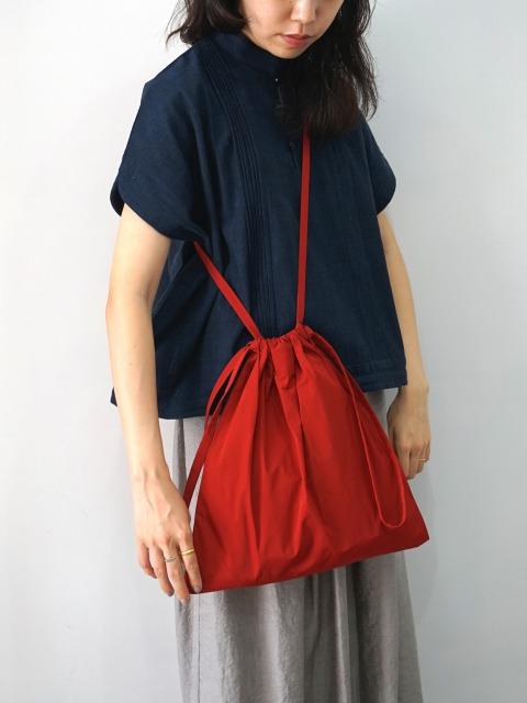 formuniform / drawstring bag S with strap RED