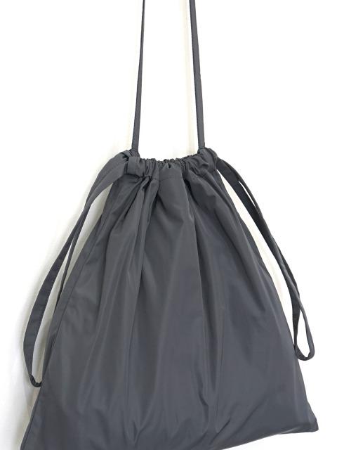 formuniform / drawstring bag S with strap GRAY