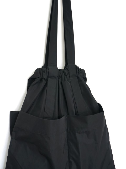 formuniform / drawstring tote bag BLACK