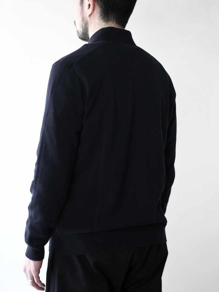 "FilMelange / KENNETH ""black navy"""