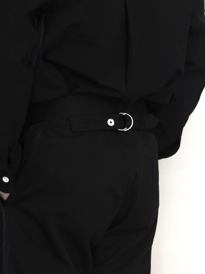 "TUKI /snap pants ""black"""