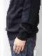 """PETER GEESON /Classic Fit Mock Neck""""BLACK"""""""
