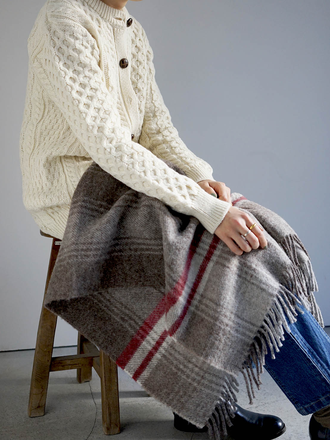 LHOMÉ / Wool blanket
