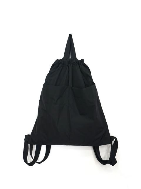 formuniform / drawstring back pack BLACK