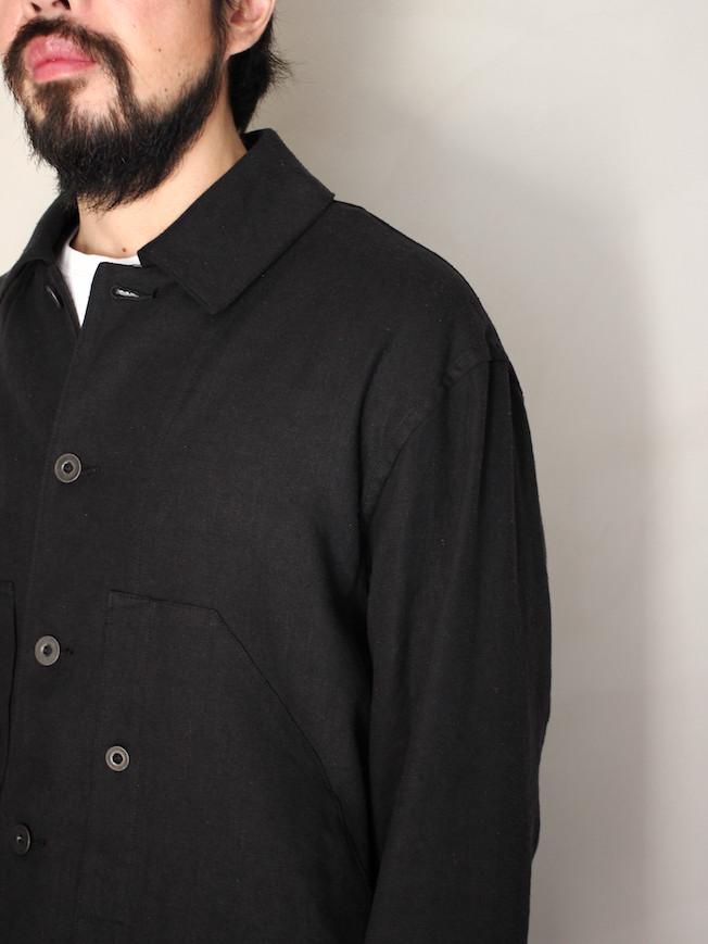 """ULTERIOR / S/L SHABBY TWILL ENGINEER JKT """"BLACK"""""""