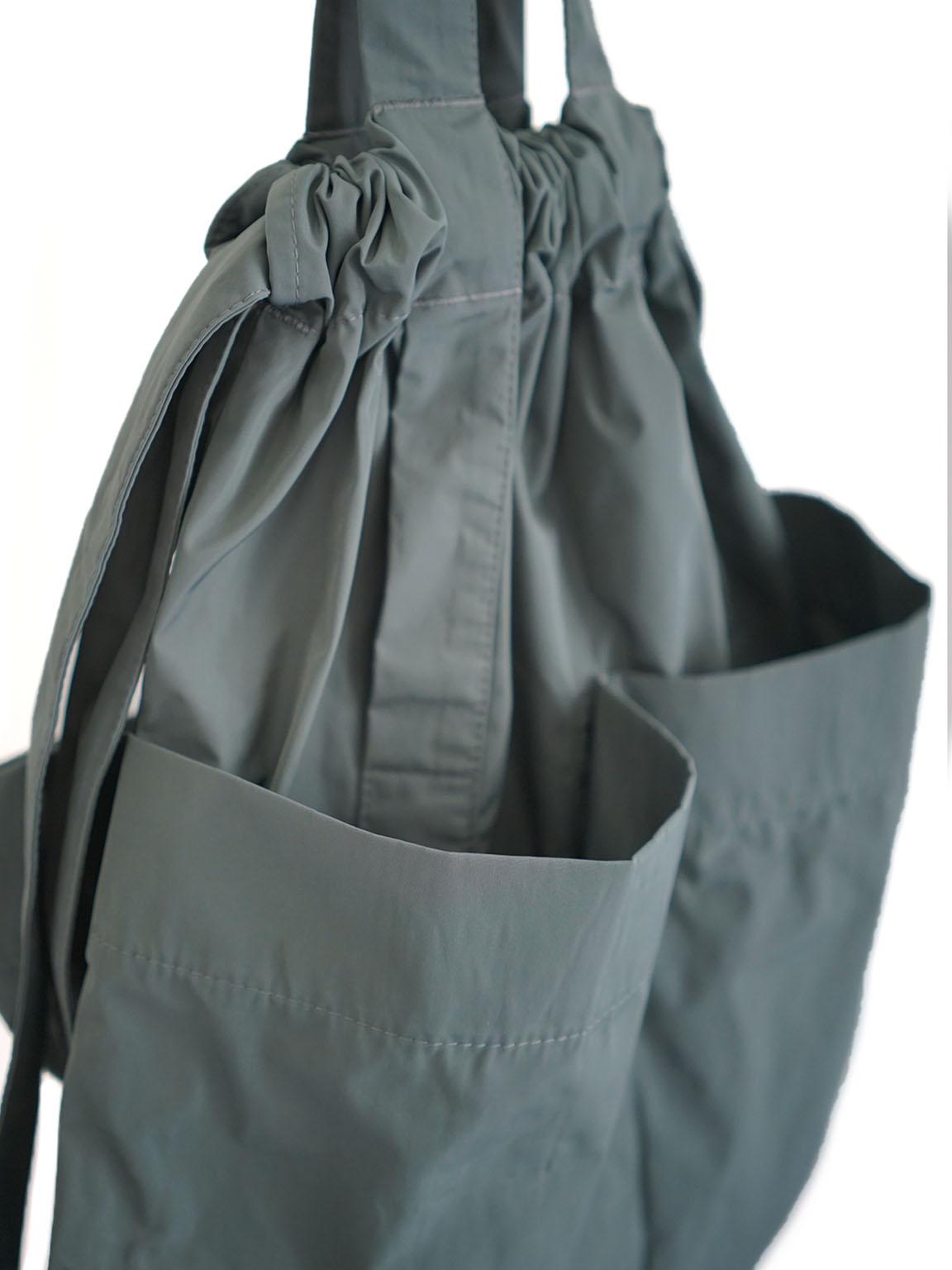 formuniform / drawstring back pack KHAKI