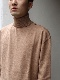 "PETER GEESON /Classic Fit Turtle Neck""CAMEL"""