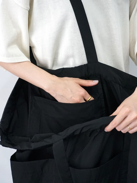 formuniform / drawstring bag L BLACK