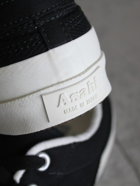 ASAHI / BELTED LOW CANVAS