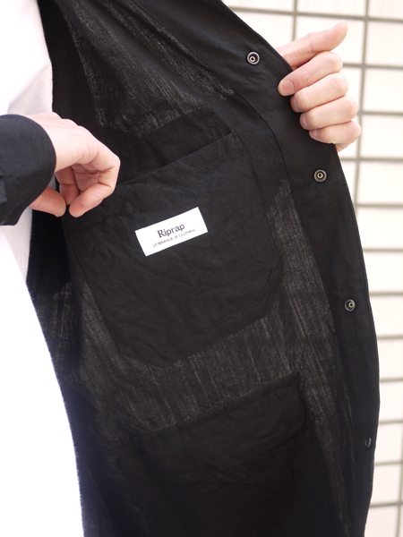 "Riprap / Hunting Jacket ""BLACK"""