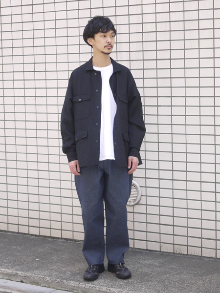 "Riprap / Hunting Jacket ""BLACK"""