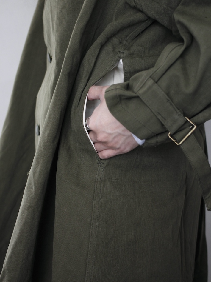 Deadstock/French Army M-35 MotorCycle Coat
