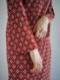 "Jens / UNDER PULLOVER DRESS  ""RED"""