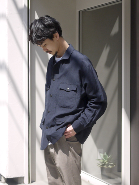 "Riprap / Hunting Jacket ""DARK NAVY"""