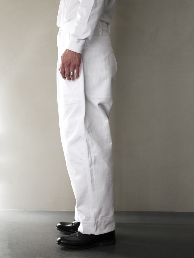 "TUKI /combat pants ""white"""