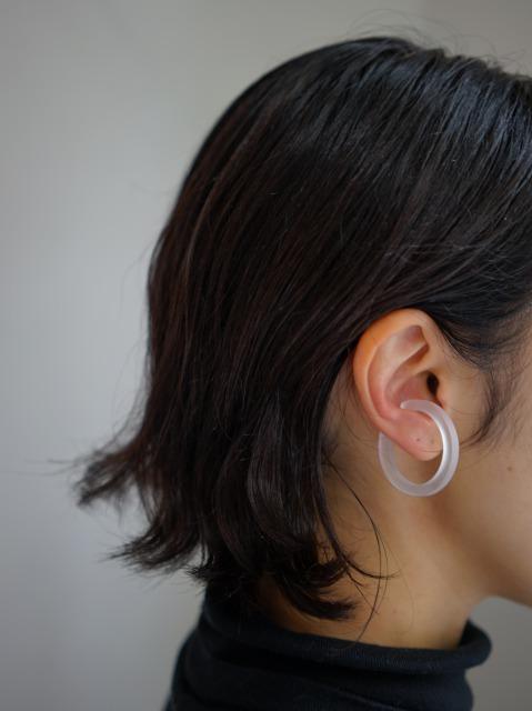 bubun / blank - HOOP [L] - earcuff
