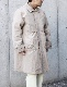 """ENDS and MEANS / Journalist Coat """"BEIGE"""""""