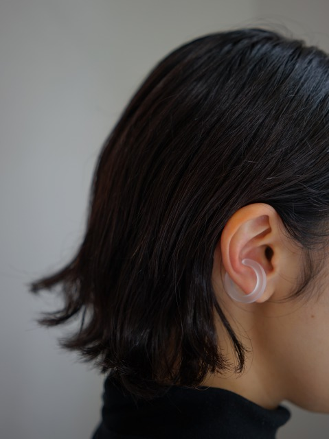 bubun / blank - HOOP [M] - earcuff