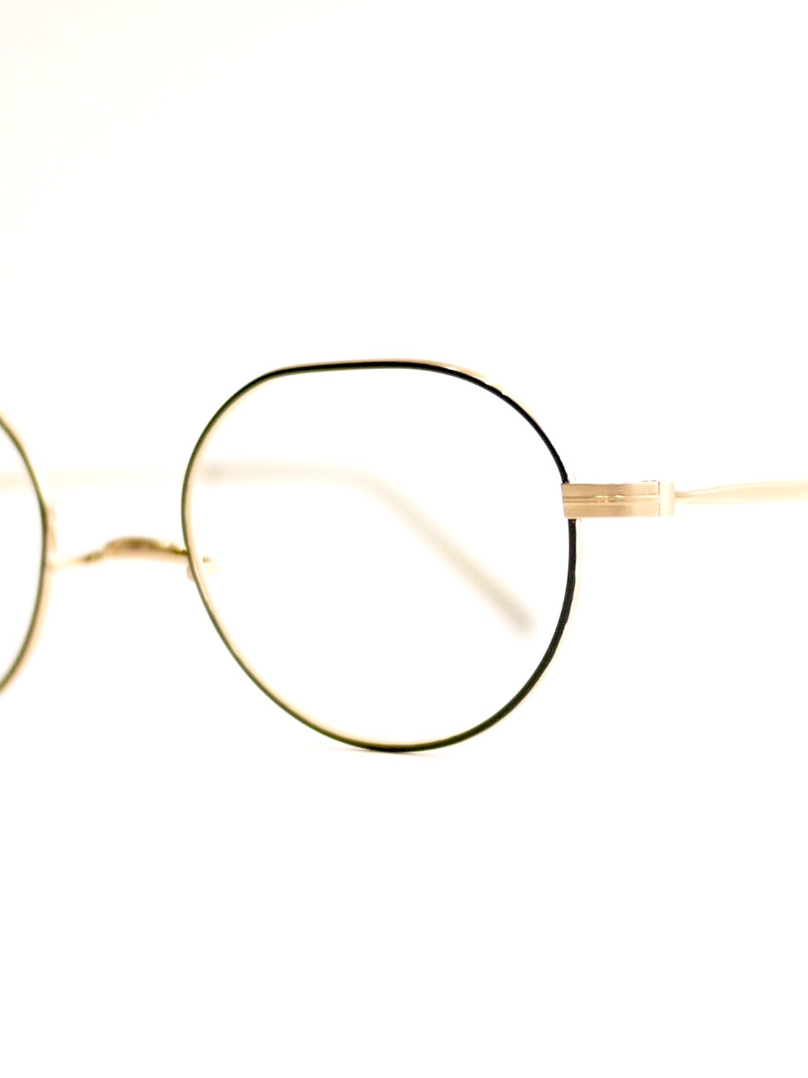 "kearny / hans ""black×gold""  (clear)"