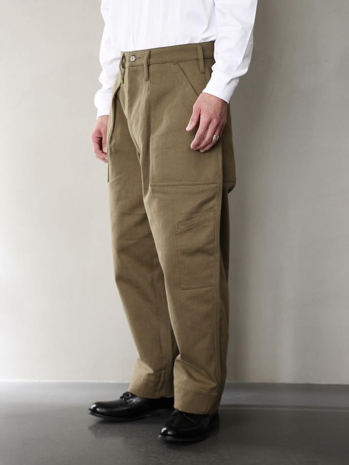"TUKI /combat pants ""olive"""