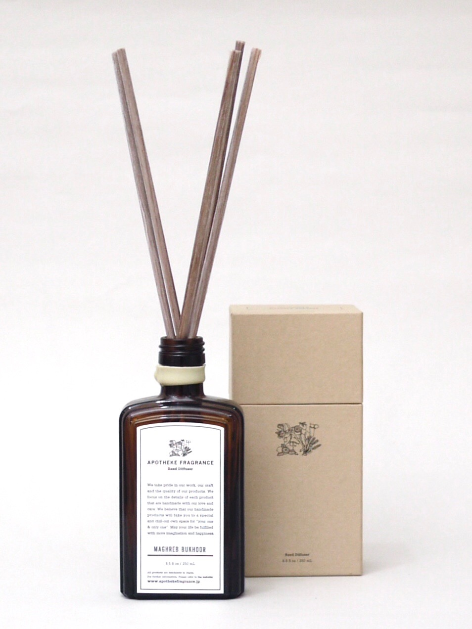 APOTHEKE FRAGRANCE Reed Diffuser