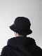 """KIJIMA TAKAYUKI / 6 PANEL HAT """"black"""""""