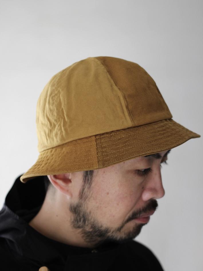 """KIJIMA TAKAYUKI / 6 PANEL HAT """"brown"""""""
