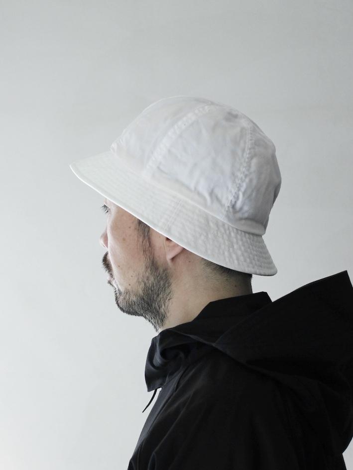 """KIJIMA TAKAYUKI / 6 PANEL HAT """"white"""""""