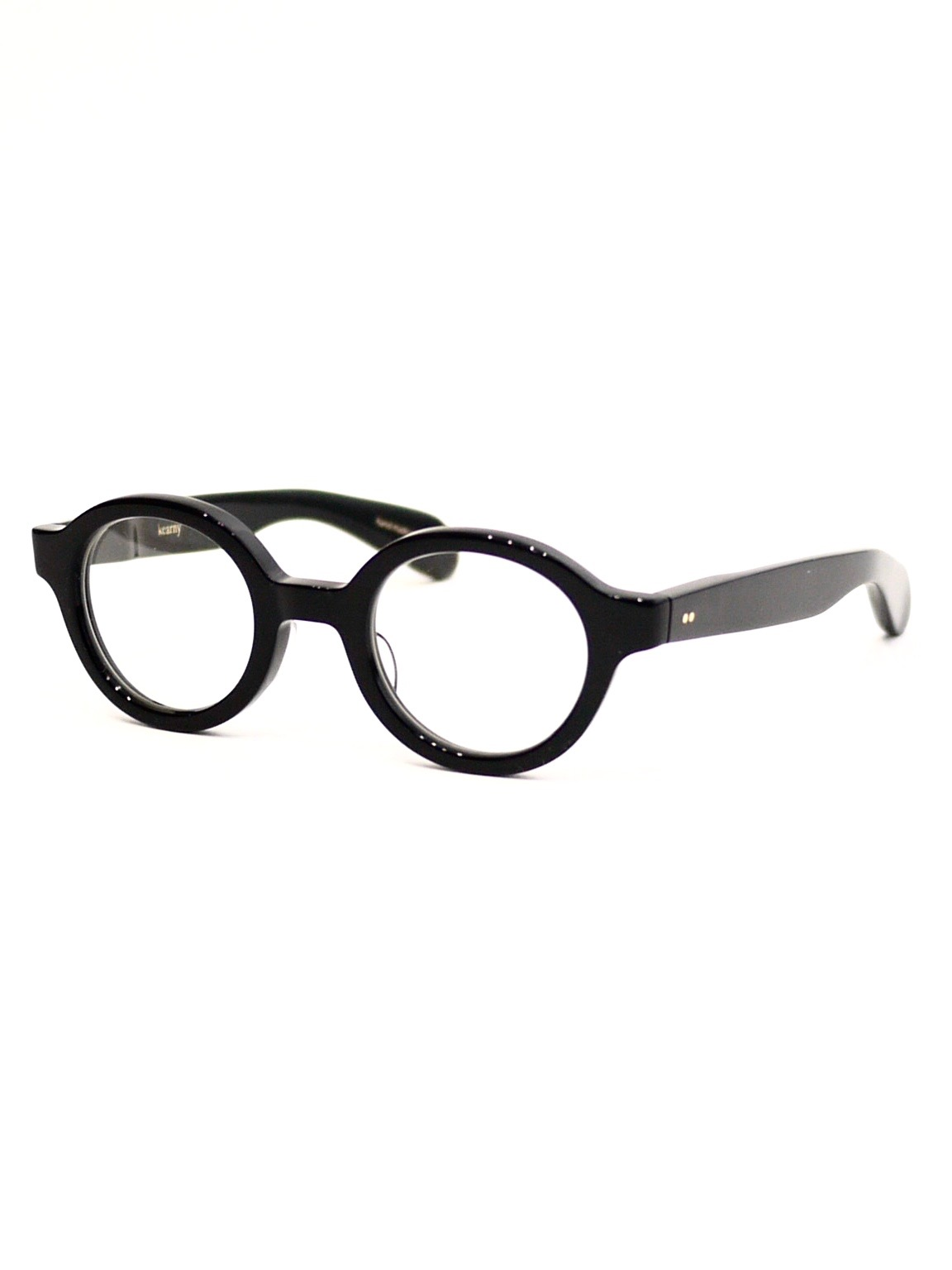kearny / peter / black (clear lens)