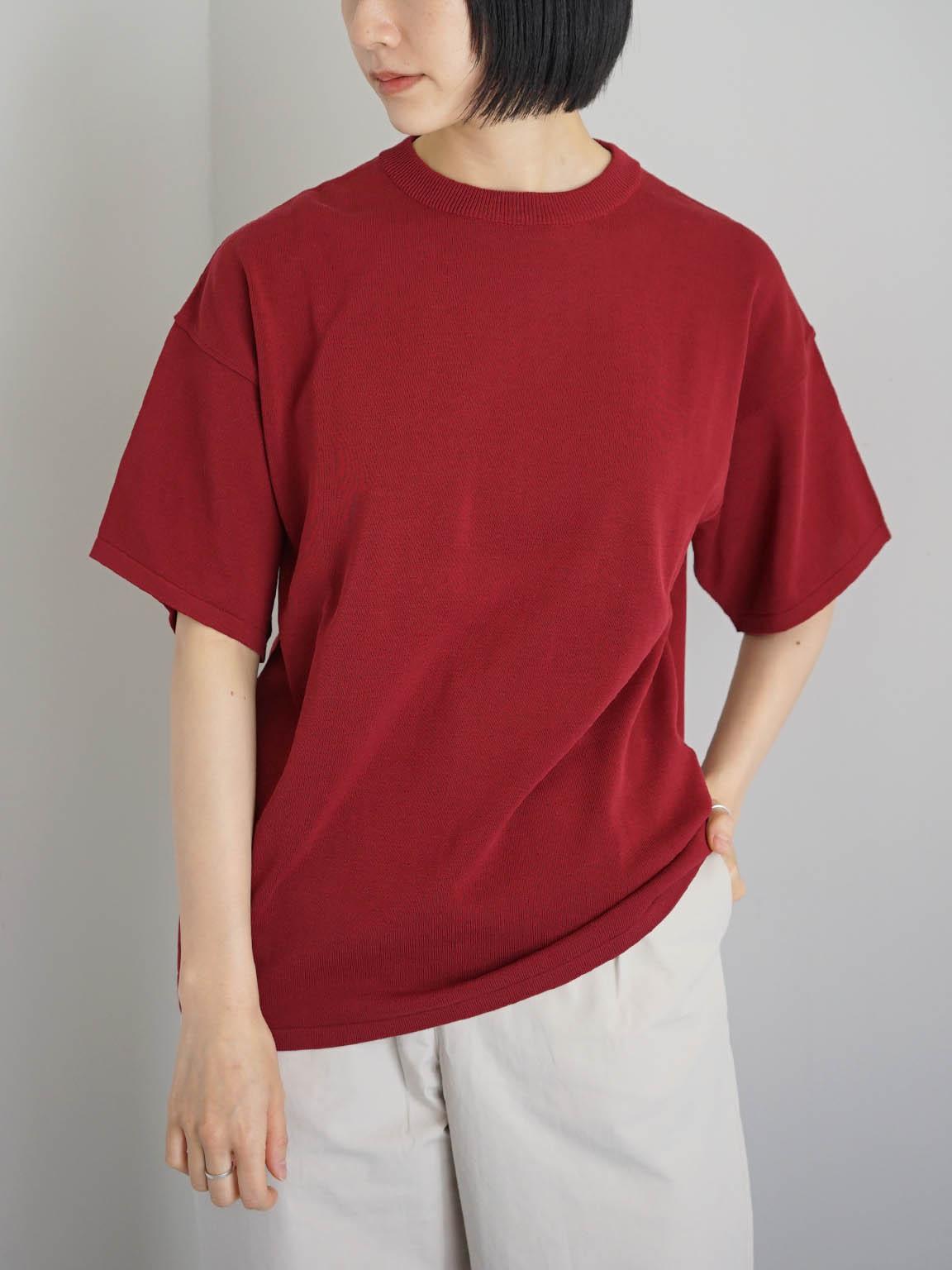 """TORICI / アイスビックTセーター(ユニセックス) """"RED steef別注"""""""