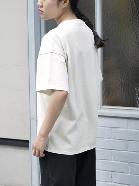 """TORICI / アイスビックTセーター(ユニセックス) """"WHITE"""""""