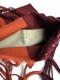 """pips / 2tone color hammock bag """"BROWN/L BROWN"""""""