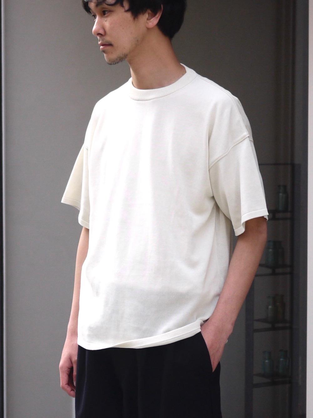 "TORICI / アイスビッグTセーター(ユニセックス) ""WHITE"""