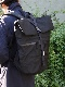 """ENDS and MEANS / Refugee Duffle Bag """"Black"""""""