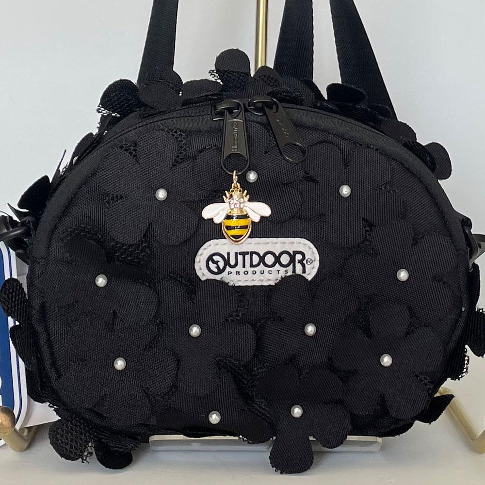 【即納可】2021SS MUVEIL OUTDOORコラボショルダーバッグ(ミュベール)ma211ebg702 ブラック